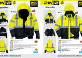 Portwest multi way- The perfect choice of hi vis jackets….