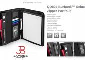 Quadra Deluxe Zipper Portfolio…