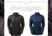 This stylish Quartic Quilt Jacket styles well for work or ho…